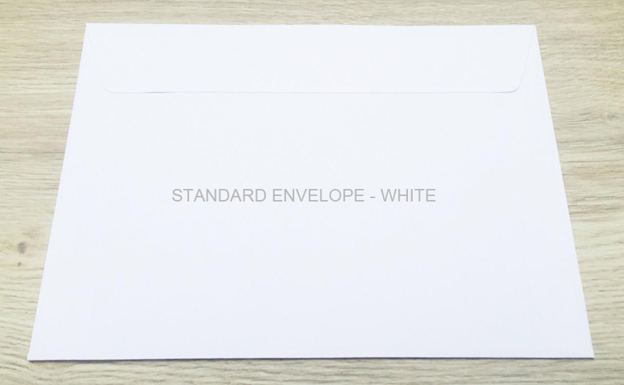 Standard Envelope – White