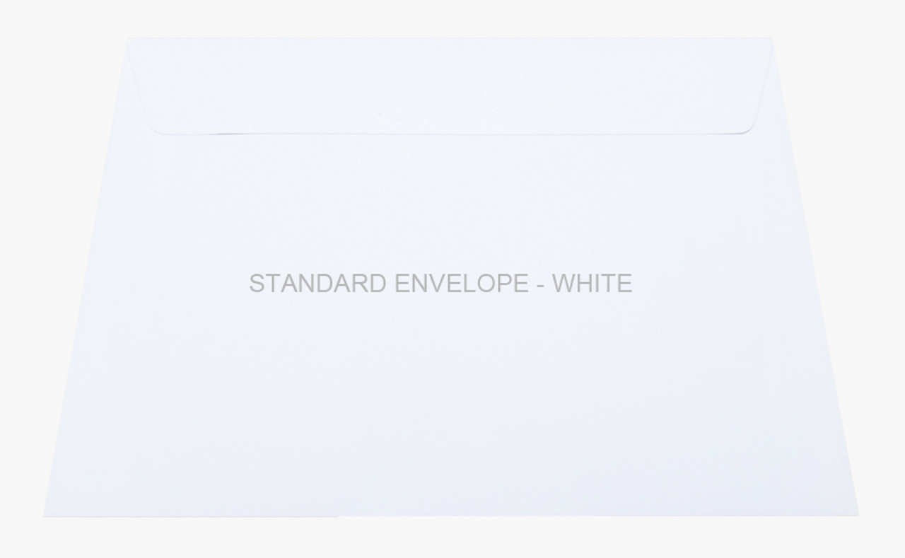 Standard Envelope - White