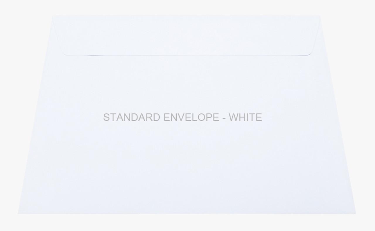 Standard Envelope - White