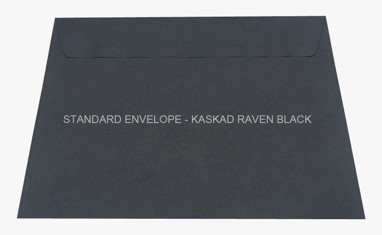 Standard Envelope - Kaskad Raven Black