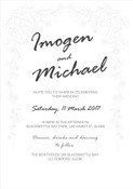 Bridal Arch Wedding Invitation