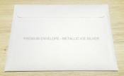 Premium Envelope – Metallic Ice Silver