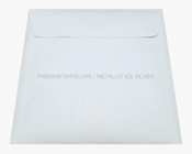 Premium Envelope - Metallic Ice Silver