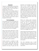 2 inside pages of the Leaders' Hindu Women Prayer Guide
