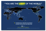 Light of the World Map