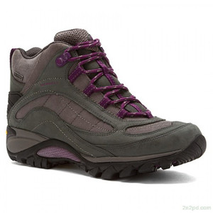 Merrell Waterproof Leather Hiking Boots - Siren Mid - 8