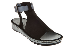 Naot Leather Mule Sandals - Verbena