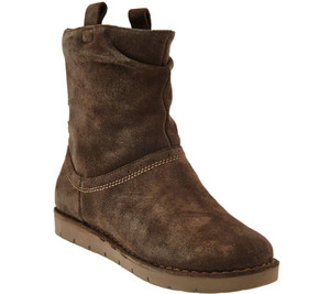 Clarks Unstructured Suede Boots - Un.Ashburn