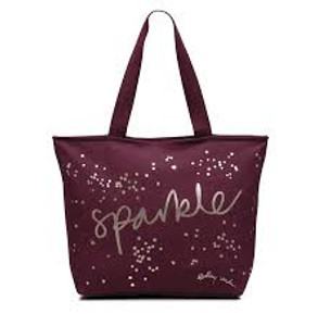 Large Canvas Tote - Berry