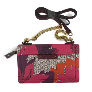 Emma & Sophia Printed Leather Phone/Wallet