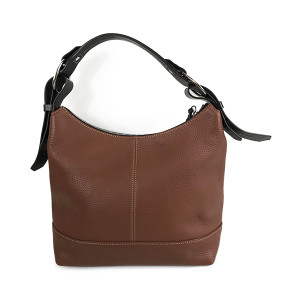 Dooney & Bourke Pebble Leather Hobo Handbag