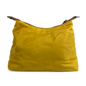 Dooney & Bourke Nylon Hobo Bag Yellow