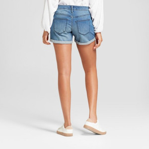 Universal Thread Women's High-Rise Midi Jean Shorts -  0