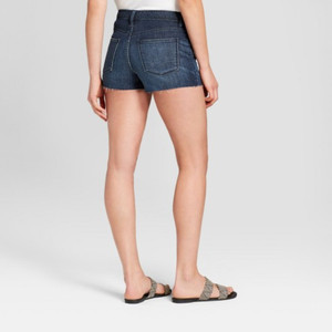 Women's High-Rise Faded Jean Shorts - Universal Thread 00