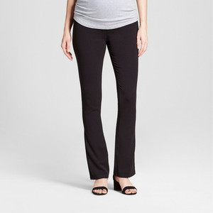 Isabel Maternity by Ingrid & Isabel Maternity Crossover Panel Bootcut Trouser