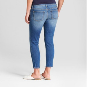 Isabel Maternity by Ingrid & Isabel Maternity Crossover Panel Skinny Crop Jeans