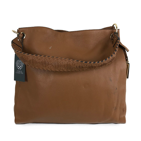 Vince Camuto Leather Hobo Bag - Nadja