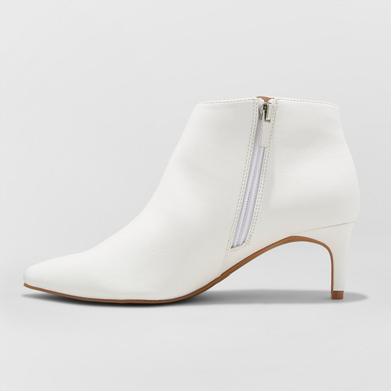 Women's Dominique Pointed Kitten Heel Booties