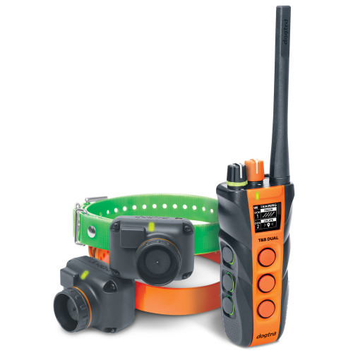 T&B DUAL | Training Collar | 2-Dog System | Range: 1.5 Mile