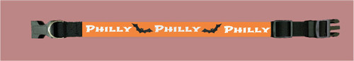 Personalized Collar Halloween Print 3 - Small