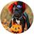 "Personalized Hallowe'en ""Cute As A Button""...Button"
