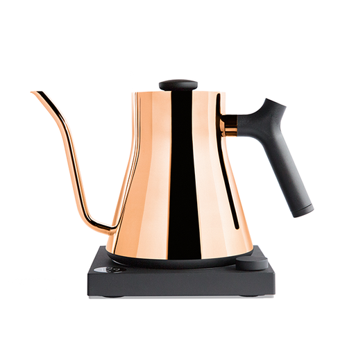 Polished Copper Stagg EKG Electric Kettle