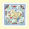 Texas, Yellow, Map Towel