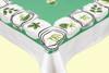 Leaf Motif Tablecloth