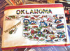 Oklahoma  Map Travel Pouch