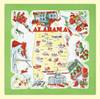 Alabama Map Towel