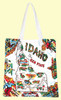 Idaho Map Tote, Medium