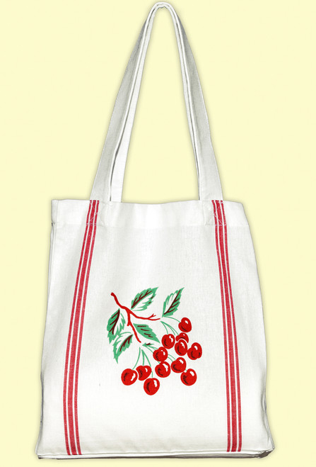 Cherry  Tile Tote