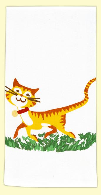 Happy Cat Towel