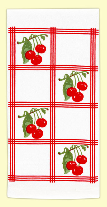 Country Cherry Towel