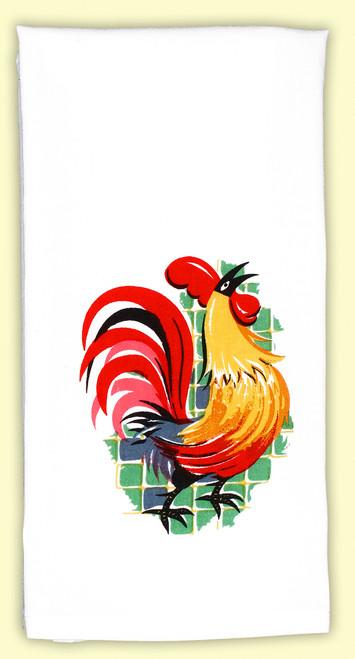 Rooster Deluxe Towel