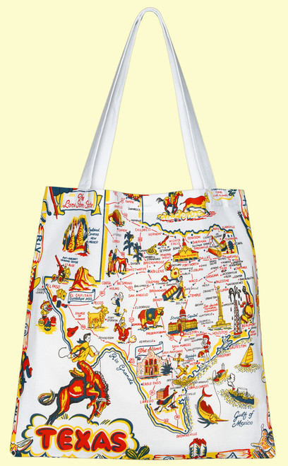 Texas Map  Tote