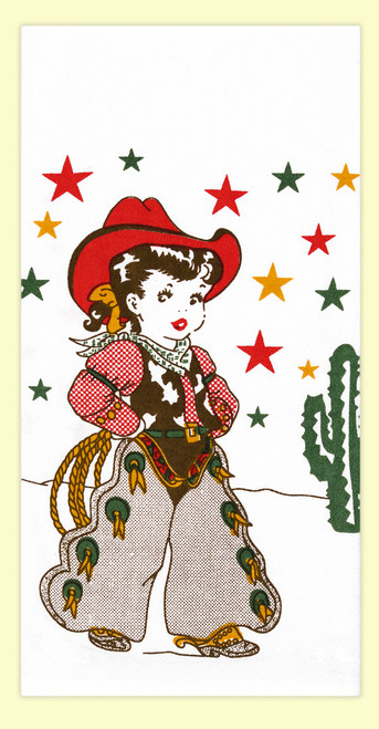 Little Cowgirl Towel