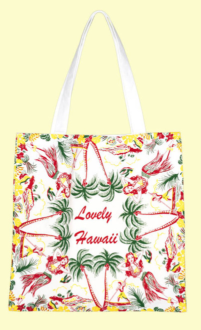 Lovely Hawaii Tote, Medium