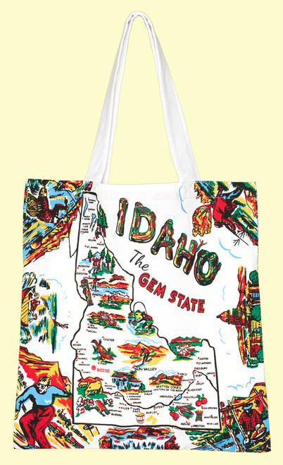 Idaho Map Tote, Medium