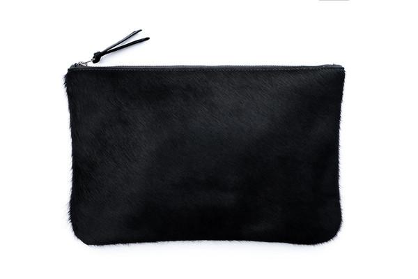 Black Oversized Clutch