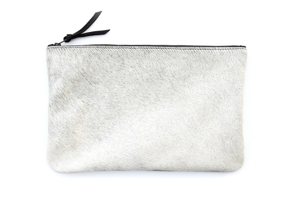 Light Grey Oversized Clutch