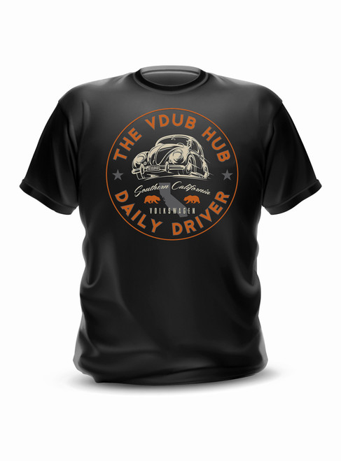 Daily Driver VW T-Shirt V1