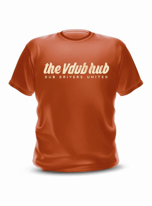 Rust VW Script T-Shirt