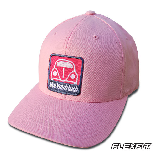 Pink Plaid Vdub Hub Cap