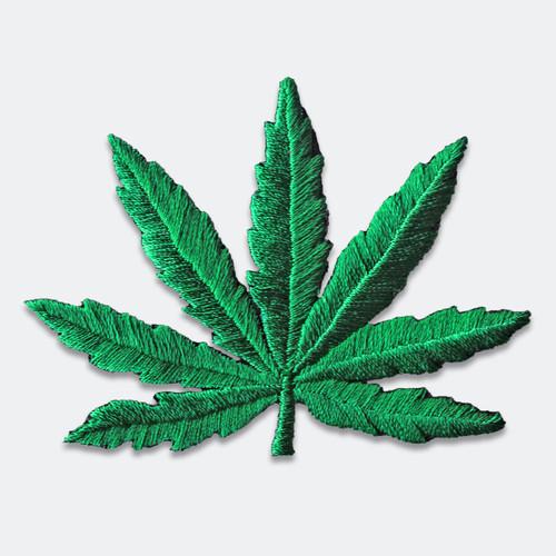 Weed Leaf Patch