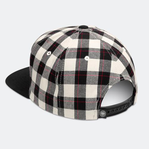 Limited Edition VDH Mascot Buffalo Check Cap