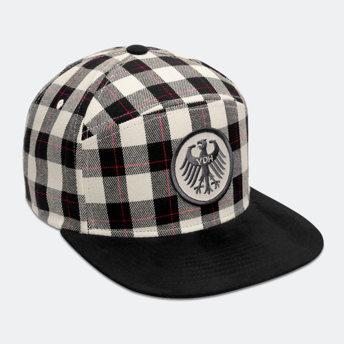 Limited Edition VDH Mascot Buffalo Check Cap