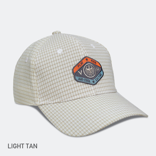 LIMITED EDITION VDH MASCOT GINGHAM BREEZER CAP-Tan