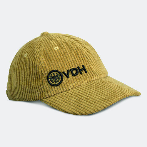 Limited Edition VDH Chartreuse Thick Corduroy Dad Hat