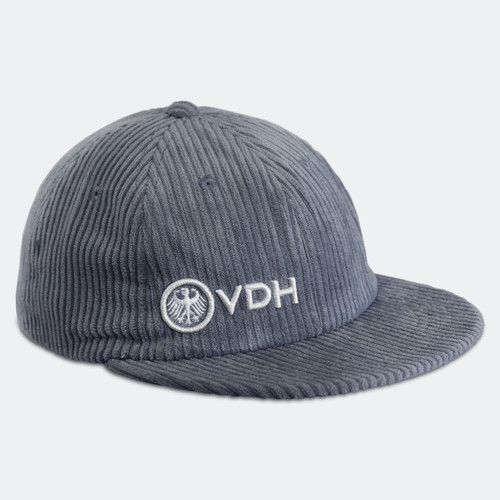 Limited Edition VDH Grey Thick Corduroy Dad Hat